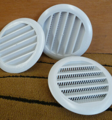 Round-flush-vents