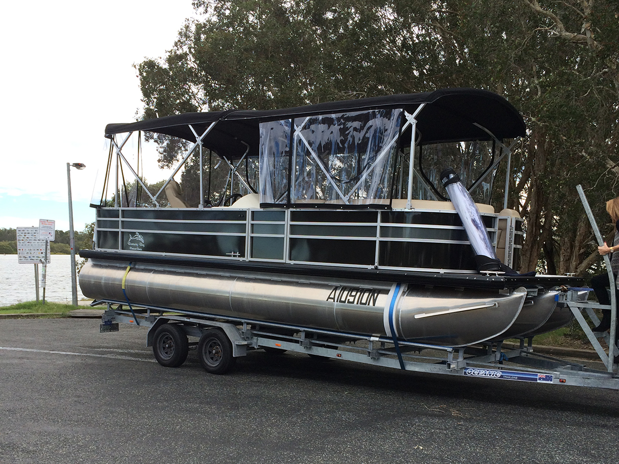 Pontoon Boats Brisbane
